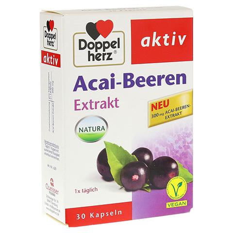 DOPPELHERZ Acai-Beeren Extrakt Kapseln 30 St�ck