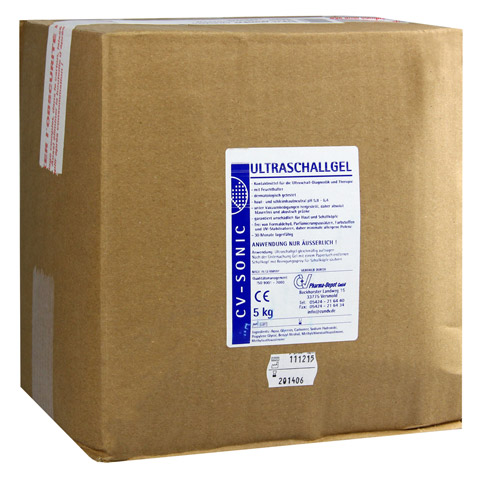 ULTRASCHALLGEL Cubitainer 5 Kilogramm