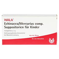 ECHINACEA/MERCURIUS comp.Kindersuppositorien 10x1 Gramm N1 - Vorderseite