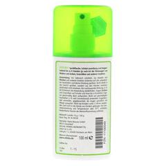 VITICKS Schutz vor Mücken u.Zecken Sprühflasche 100 Milliliter - Rückseite