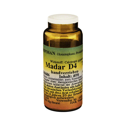 MADAR D 4 Tabletten 40 St�ck N1