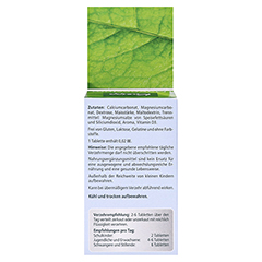 KNEIPP Magnesium+Calcium Tabletten 150 Stück - Rückseite