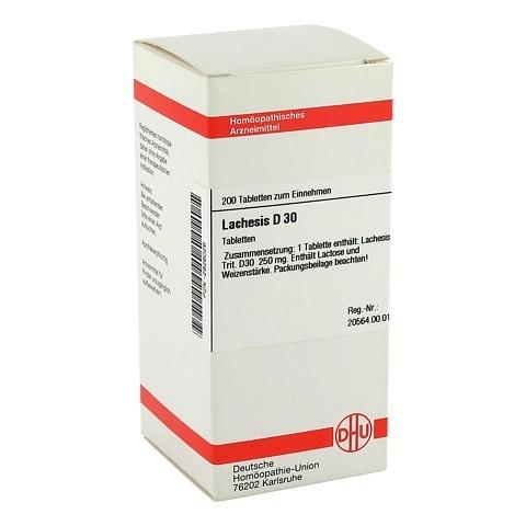 LACHESIS D 30 Tabletten 200 Stück