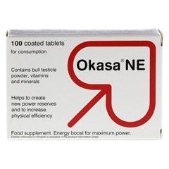 OKASA NE Dragees 300 Stück - Rückseite