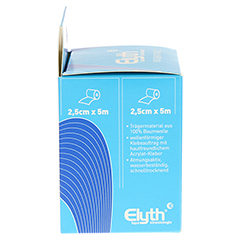 KINESIOLOGIE Tape Elyth 2,5 cmx5 m blau 2 Stück - Linke Seite