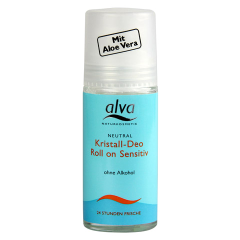 ALVA Kristall Deo Roll-on Sensitiv 50 Milliliter
