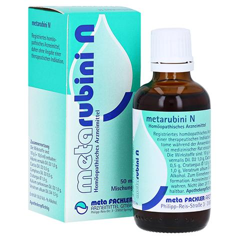 METARUBINI N Tropfen zum Einnehmen 50 Milliliter N1
