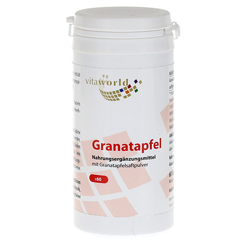 GRANATAPFEL 500 mg Kapseln 60 Stück