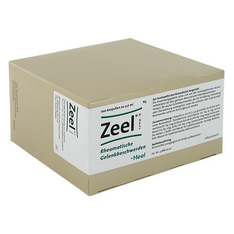 ZEEL comp.N Ampullen 100 Stück N3