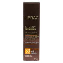 LIERAC Sunific Premium LSF 30 Creme 50 Milliliter - R�ckseite