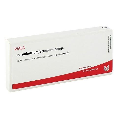 PERIODONTIUM/ STANNUM COMP. Ampullen 10x1 Milliliter N1