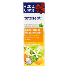 TETESEPT Erholung & Regeneration Bad 125 Milliliter - Vorderseite