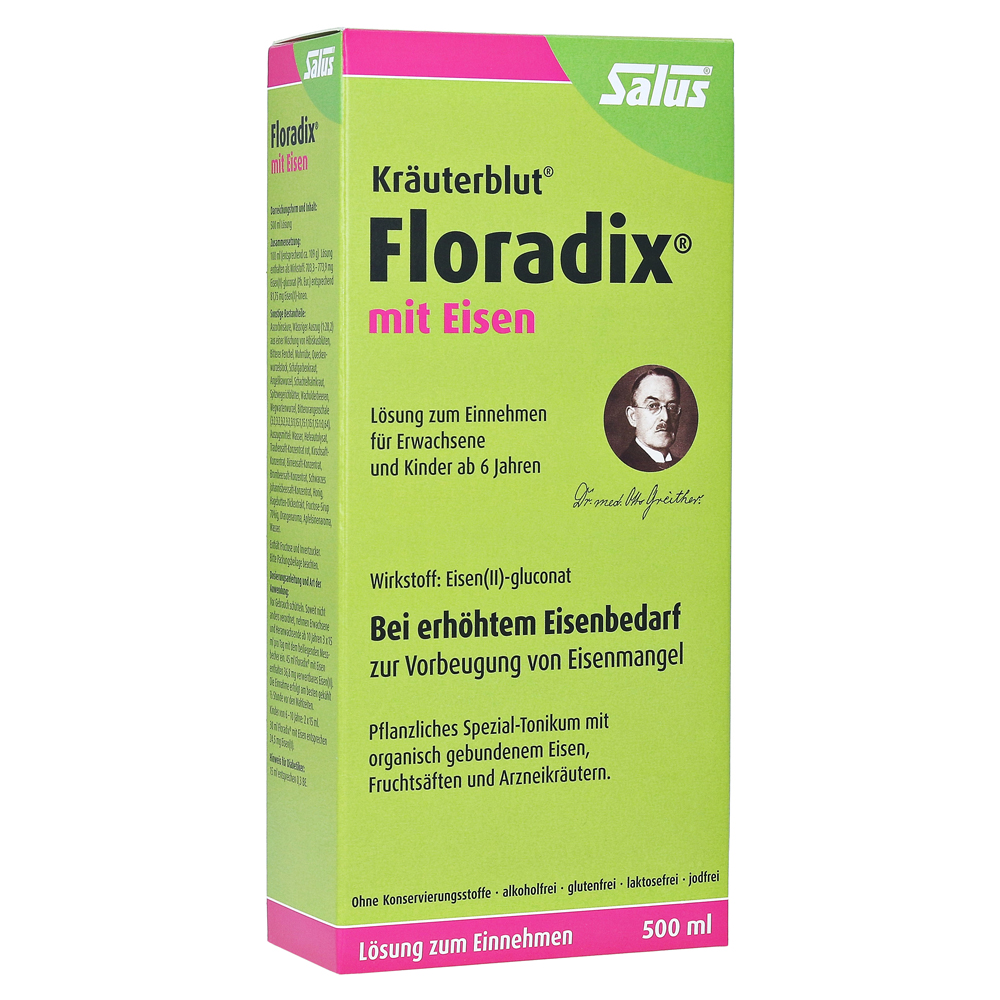 erfahrungen zu floradix mit eisen 500 milliliter medpex versandapotheke. Black Bedroom Furniture Sets. Home Design Ideas