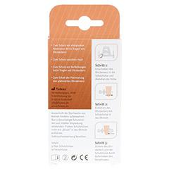 FLUTEES Schutzhülsen für Ohrstecker 5 Stück - Rückseite