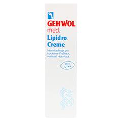 GEHWOL MED Lipidro-Creme 125 Milliliter - Vorderseite
