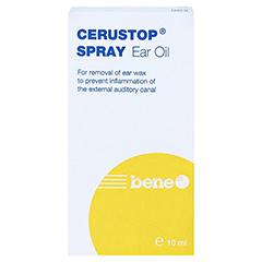 CERUSTOP Ohrenöl-Spray 10 Milliliter - Rückseite