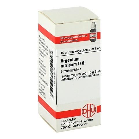 ARGENTUM NITRICUM D 8 Globuli 10 Gramm N1