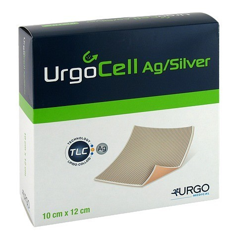 URGOCELL silver Non Adhesive Verband 10x12 cm 10 St�ck