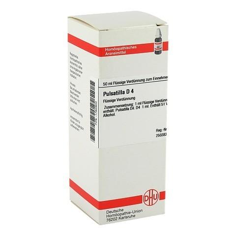 PULSATILLA D 4 Dilution 50 Milliliter N1