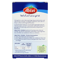 ABTEI Zink + Histidin 30 St�ck - R�ckseite
