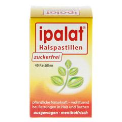 IPALAT Halspastillen zuckerfrei 40 St�ck - R�ckseite