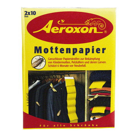 AEROXON Mottenpapier 2x10 Stück