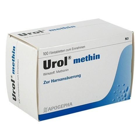 UROL METHIN Filmtabletten 100 St�ck N3