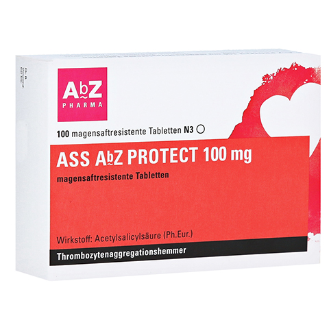 ASS AbZ PROTECT 100mg 100 St�ck N3