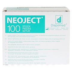 KANÜLEN Einmal Neoject Gr.20 0,4x19 mm 100 Stück - Vorderseite