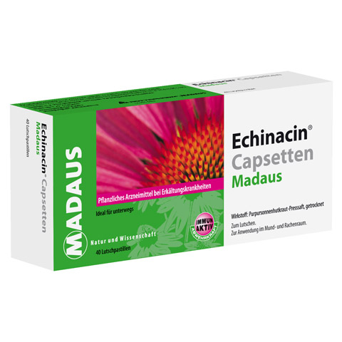 Echinacin Capsetten Madaus 40 Stück