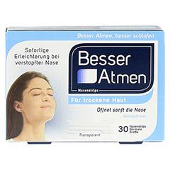 Besser Atmen Nasenstrips 30 Stück - Vorderseite