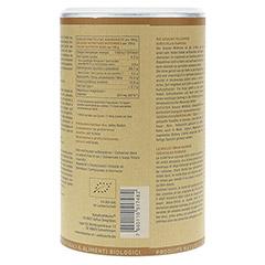 BRAUNHIRSE Bio Pulver 500 Gramm - Rückseite