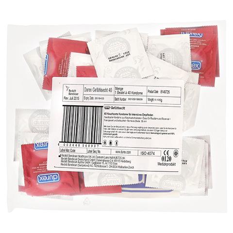DUREX Gefühlsecht Kondome Mega Pack 40 Stück