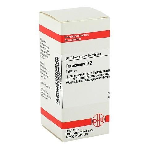 TARAXACUM D 2 Tabletten 80 Stück N1
