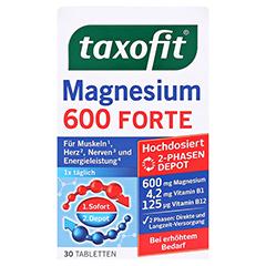 TAXOFIT Magnesium 600 FORTE Depot Tabletten 30 Stück - Vorderseite