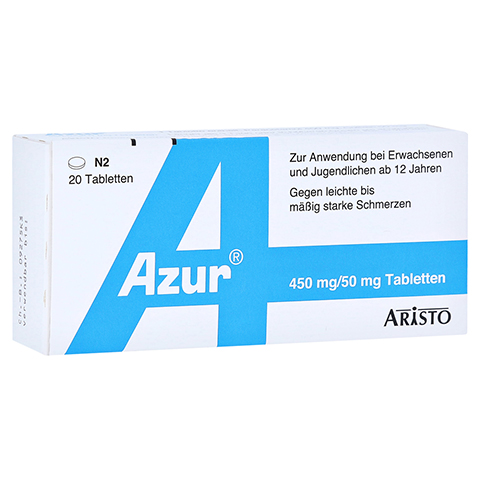 Azur 450mg/50mg 20 St�ck N2