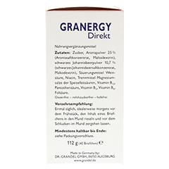 GRANDEL GRANERGY Direkt B12 plus Briefchen 40 Stück - Rechte Seite