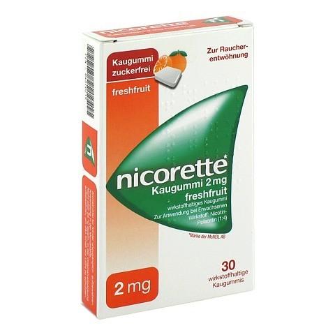 Nicorette 2mg freshfruit 30 Stück