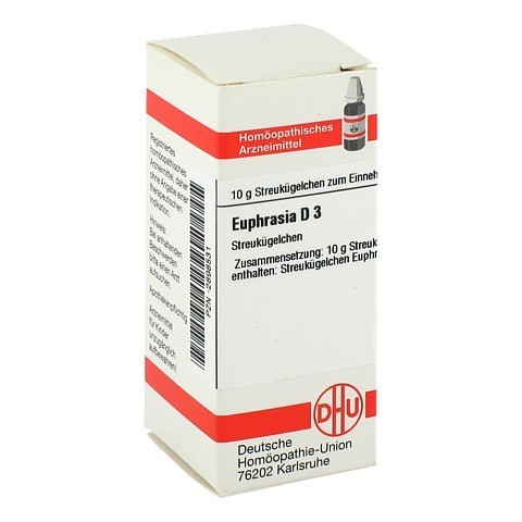 EUPHRASIA D 3 Globuli 10 Gramm N1