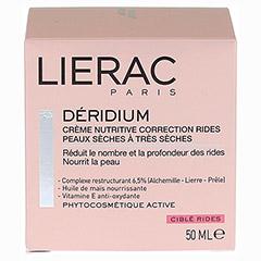 LIERAC Deridium CORRECTION Creme trockene Haut 50 Milliliter - Vorderseite