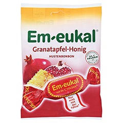 EM EUKAL Bonbons Granatapfel-Honig zuckerhaltig 75 Gramm