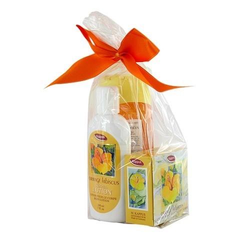 KAPPUS Orange Hibiscus Geschenkpackung 1 Packung