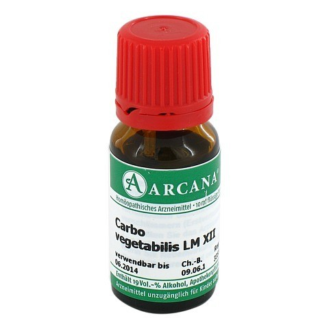 CARBO VEGETABILIS Arcana LM 12 Dilution 10 Milliliter N1