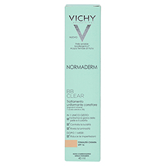 VICHY NORMADERM BB Clear Creme hell LSF 16 40 Milliliter - Rückseite