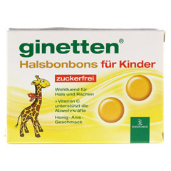 GINETTEN Kinder Halsbonbon 24 Stück - Vorderseite