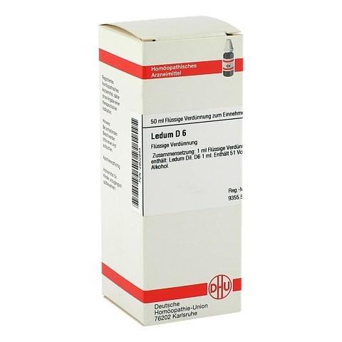LEDUM D 6 Dilution 50 Milliliter N1