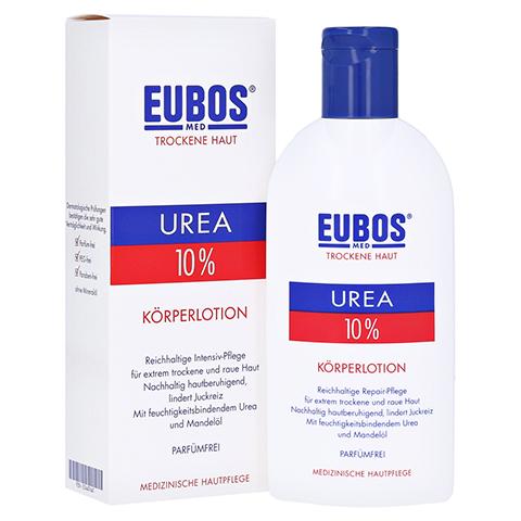 EUBOS TROCKENE Haut Urea 10% K�rperlotion 200 Milliliter