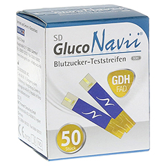 SD GlucoNavii GDH Blutzucker-Teststreifen 1x50 Stück