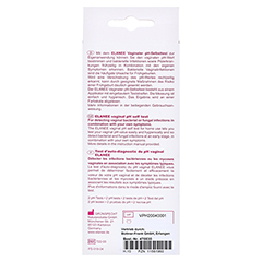 ELANEE pH-Test vaginal 2 St�ck - R�ckseite