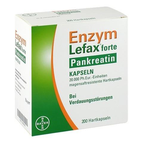 Enzym Lefax forte Pankreatin 200 Stück N3